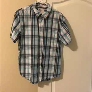AE American eagle vintage fit button up shirt